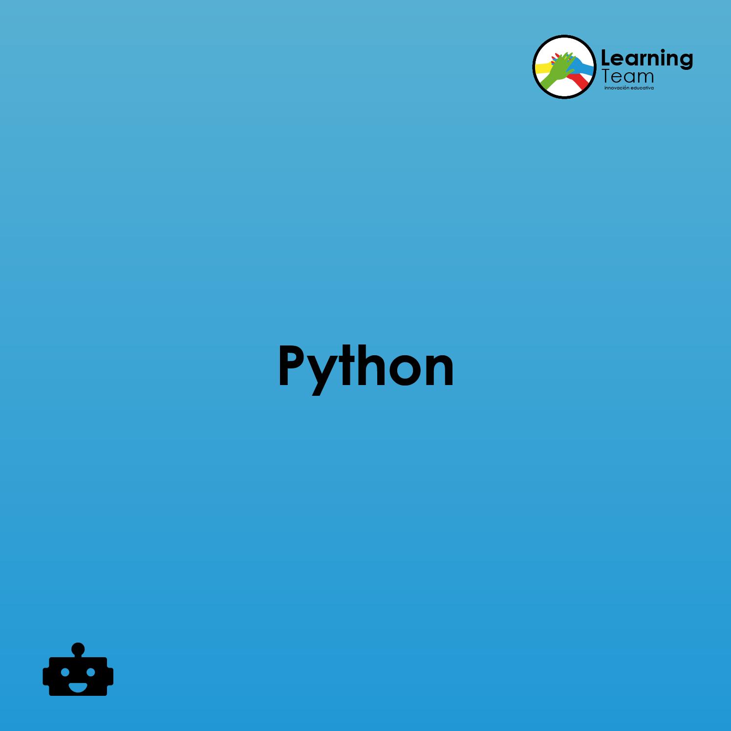 Python   Programación y robótica